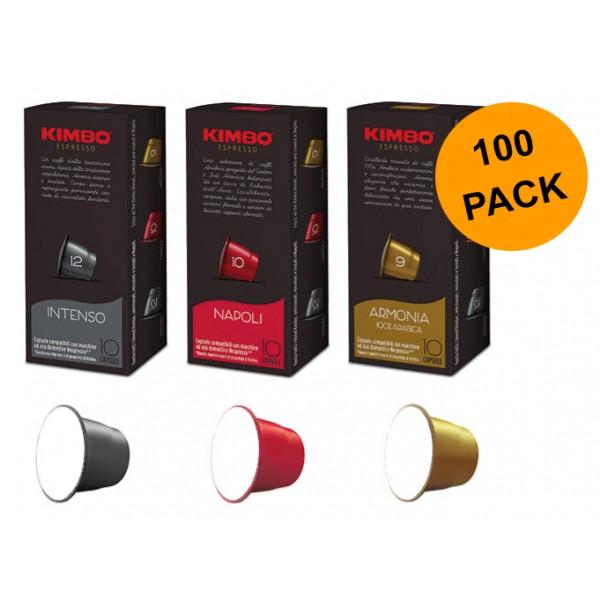 KIMBO capsules compatible with Nespresso Original*