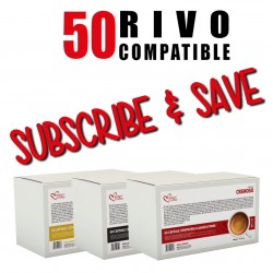 100 Rivo  compatible Pods Every Month