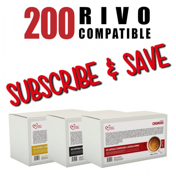 200 Rivo compatible Pods Every Month