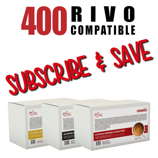 400 Rivo Pods Every Month