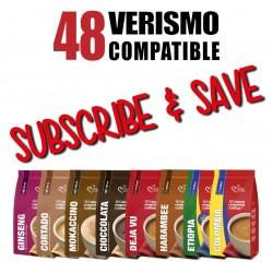 48 Verismo/CBTL Pods Every Month