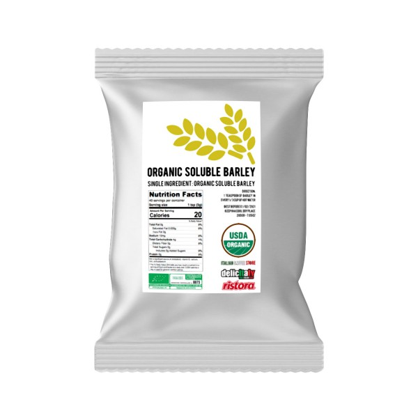 Soluble barley ORZO Coffee Substitute